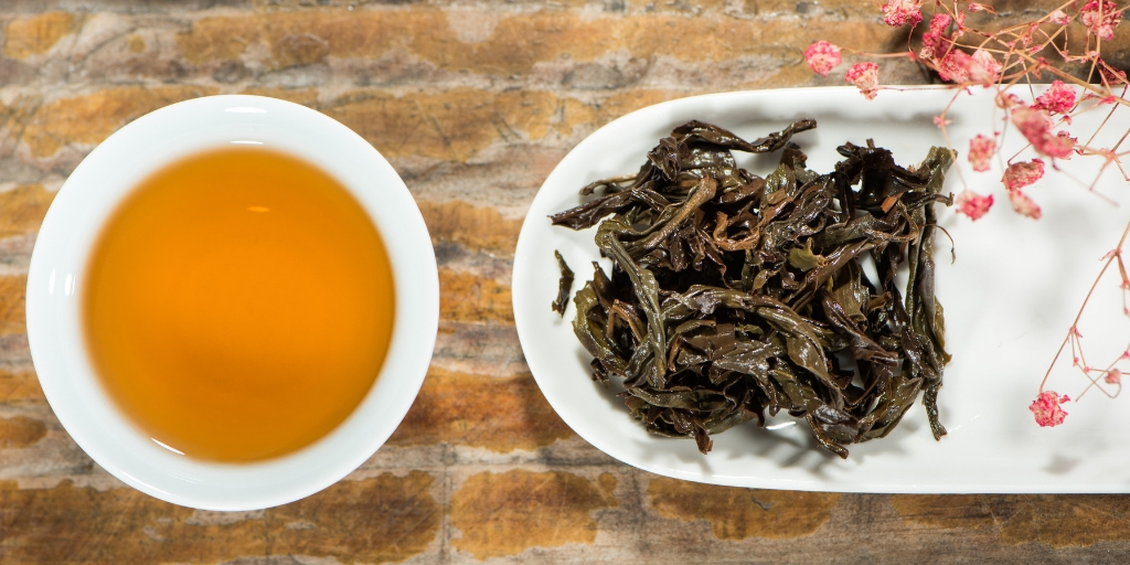 Natürlich aromatisierter Tee