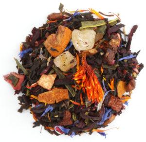 Diesen Tee als einen farbenprächtigen Exoten zu bezeichnen ist keineswegs eine Übertreibung.