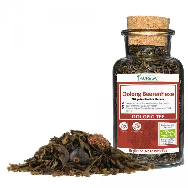 Loser aromatisierter Oolongtee mit Holunderbeeren und Johannisbeeren